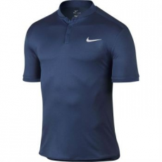 Nike Advantage Solid férfi póló, Coastal Blue/White, L (729384-423-L)