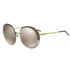 Emporio Armani EA2044 31245A PALE GOLD LIGHT BROWN MIRROR GOLD napszemüveg