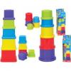 Fun Time 5 részes toronyépítő bébijáték 5007