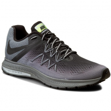 Nike Cipők NIKE - Zoom Winflo 3 Shield 852441 001 Black/Black-Cool Grey/Wlf Grey