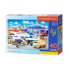 Castorland Maxi Puzzle, A Day at the Airport, 40 darabos (5904438040223)