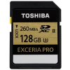Toshiba Memóriakártya, SDXC, 128GB, 260/240MB/sec, TOSHIBA