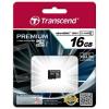 Transcend Micro SDHC 16GB Class 10 UHS-I  memóriakártya