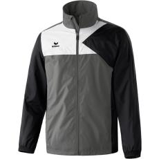 Erima Premium One Rain Jacket szürke/fekete/fehér széldzseki