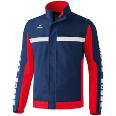 Erima 5-CUBES Jacket with detachable sleeves sötétkék/piros