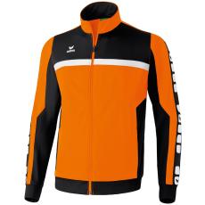 Erima 5-CUBES Polyester Jacket narancs/fekete/fehér melegítő felső