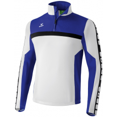 Erima 5-CUBES Training Top fehér/kék zippes felső