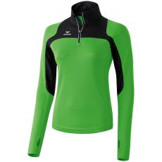 Erima Race Line Running Long-Sleeve zöld/fekete hosszúujjú felső