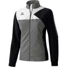 Erima Premium One Presentation Jacket szürke/fekete/fehér melegítő felső