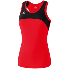Erima Race Line Running Singlet piros/fekete ujjatlan felső