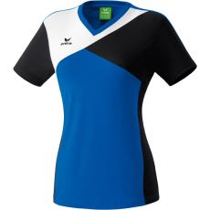 Erima Premium One T-shirt kék/fekete/fehér poló