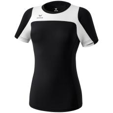 Erima Race Line Running T-Shirt fekete/fehér poló
