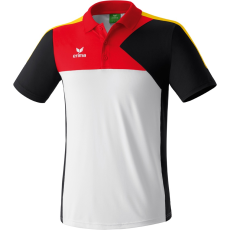 Erima Premium One Polo-shirt fehér/fekete/piros galléros poló