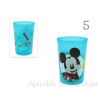 Disney pohár, 2 dl-es, többféle mintával