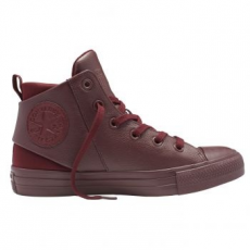 Converse Chuck Taylor All Star Sloane Mid Leather női tornacipő, Deep Bordeaux, 38 (553378C-625-7.5)