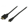 Valueline HDMI - HDMI micro kábel 2,0m 1.3C / 1.4 3D VGVP34700B20