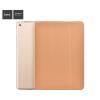 Hoco - Cube series nyomott mintázatú iPad Pro 9.7 tablet tok - barna