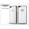 Aston Martin Apple iPhone 7 Plus valódi bőr hátlap - Aston Martin Racing - white
