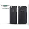Aston Martin Apple iPhone 7 Plus valódi bőr hátlap - Aston Martin Racing - black