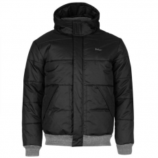 Lee Cooper férfi dzseki - Lee Cooper Ribbed Padded Jacket