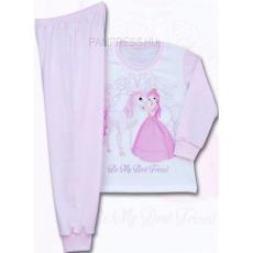 PAMPRESS Lovas és Hercegnő mintás pizsama kislányoknak