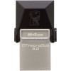 Kingston DataTraveler microDuo3 64GB USB 3.0 DTDUO3/64GB