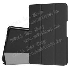 Notesz / mappa tok - oldalra nyíló flip cover, TRIFOLD asztali tartó funkció - FEKETE - ASUS ZenPad Z8 (ZT581KL) tok és táska