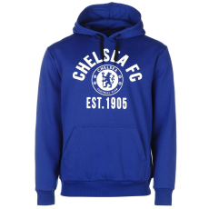 Source Lab Chelsea férfi kapucnis pulóver királykék L