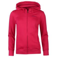 LA Gear Női kapucnis cipzáras pulóver pink XXS