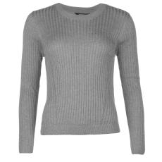 Golddigga Rib női kötött pulóver szürke S