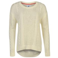Kangol Cable női kötött pulóver bézs XS