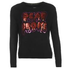 Iron Fist Női pulóver fekete XS