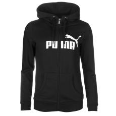Puma No1 női kapucnis pamut pulóver fekete L
