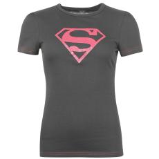 DC Comics Superman női póló sötétszürke M