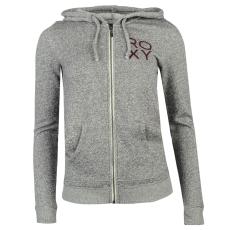 Roxy Basic női kapucnis polár pulóver szürke XS