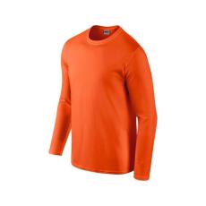 GILDAN hosszú ujjú Softstyle póló, narancs