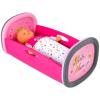 Baby Nurse: bölcső - rózsaszín