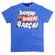 gyerek pólo FC BARCELONA - kék - méret: 98 - 104