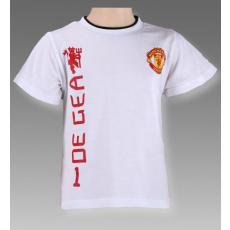 gyermek pólo Manchester United - DE GEA 1 - méret: 122 / 7 év.