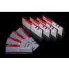 G.Skill DIMM 128 GB DDR4-3200 Octo-Kit Ezüst / Piros (F4-3200C14Q2-128GTZ)
