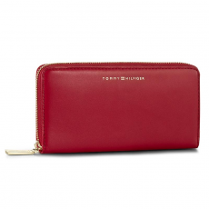 Tommy Hilfiger Nagy női pénztárca TOMMY HILFIGER - Smooth Leather Large Z/A Wallet AW0AW03027 603