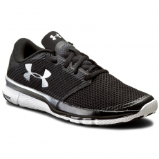Under Armour Cipők UNDER ARMOUR - Ua Charged Reckless 1288071-001 Blk/Wht/Mpt