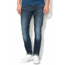 Jack Jones Jack Jones Sötétkék Slim Fit Farmernadrág, W34-L30 (12115779-BLUE-DENIM-W34-L30)