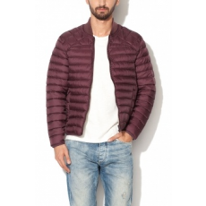 Jack Jones Jack Jones Bordó Férfi Slim Fit Dzseki, L (12109153-FUDGE-L)