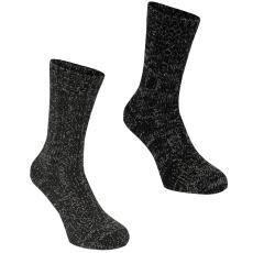 SoulCal Boot 2 darabos férfi zokni fekete 41-45