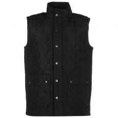 Pierre Cardin Quilted férfi mellény fekete XS