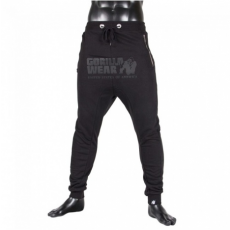 ALABAMA DROP CROTCH JOGGERS - BLACK (BLACK) [L]