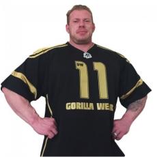 GW ATHLETE T-SHIRT DENNIS WOLF (BLACK/GOLD) [L]