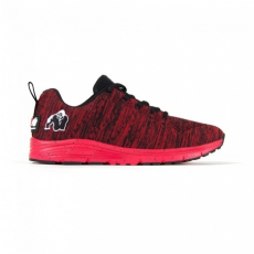 BROOKLYN KNITTED SNEAKERS - RED/BLACK (RED/BLACK) [38]