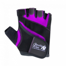 WOMENS FITNESS GLOVES (BLACK/PURPLE) [S]